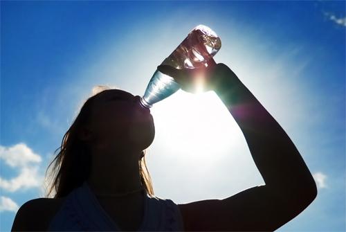 #Beba água sempre